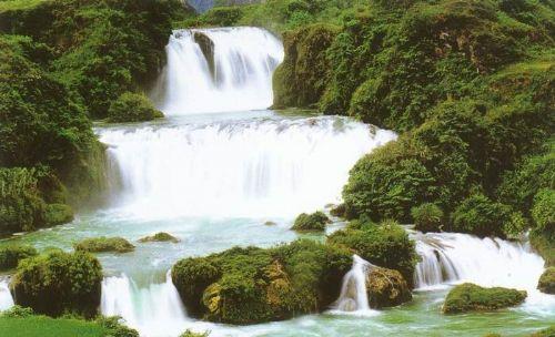 [中国风]爱布瀑布群风景区