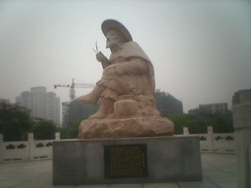 姜太公釣魚圖