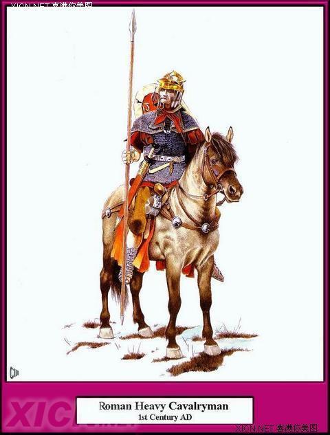 手绘牛战士盔甲