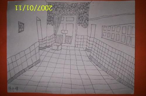 五年级《绘画中的透视现象》