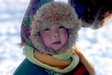 蒙古小孩儿-草原野马-搜狐博客
