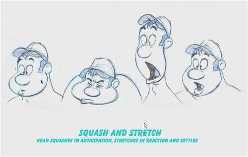 迪斯尼的动画运动规律