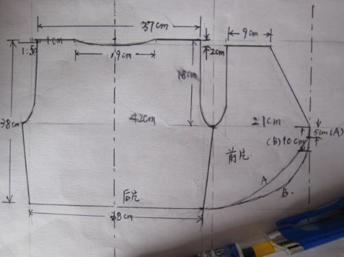 钩织过程中理解点线面之间的关系