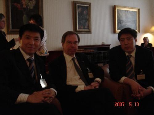 张起淮,叶南德(Johan Gernandt)、贸仲副主任兼秘书长于健龙-最牛