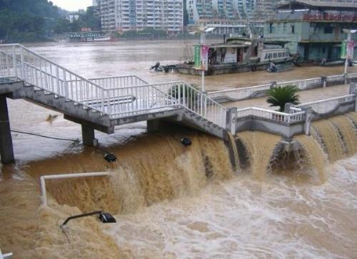 长江1号洪水形成