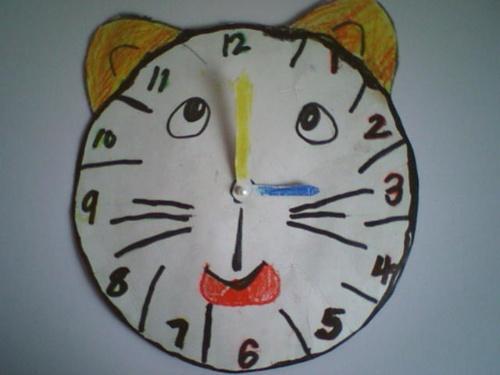 儿童英语手工日历