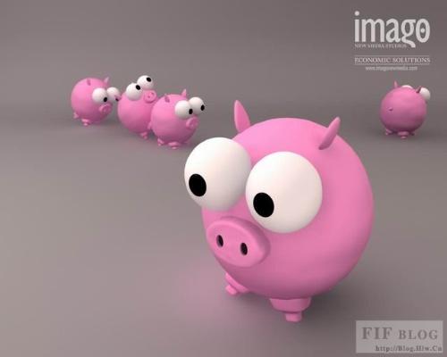 超级可爱的动物卡通图片