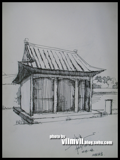 建筑速写-≡viimvii≡-搜狐博客