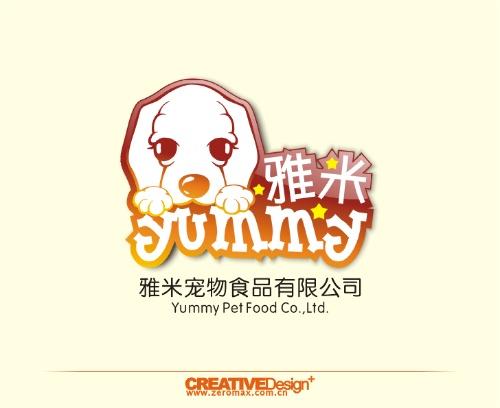 雅米宠物食品标志设计