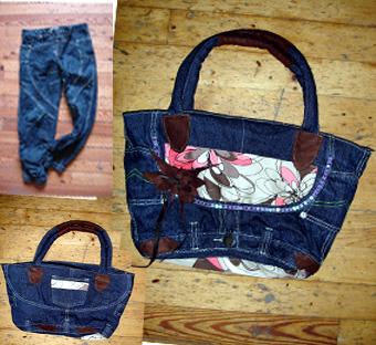 旧衣服做包包步骤图片