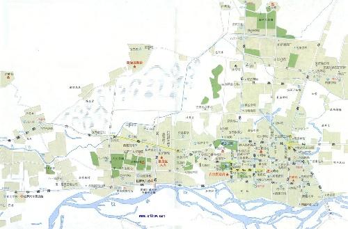拉萨城区地图