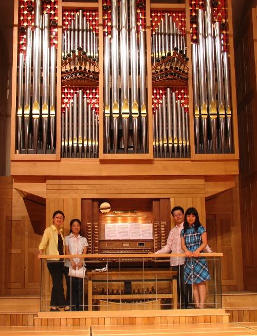我的三位管风琴学生图片