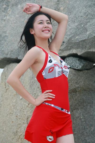cctv模特海边泳装靓丽外拍 ╭ 中国模特大赛 ╮ 搜狐博客