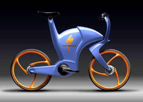 未来感念自行车