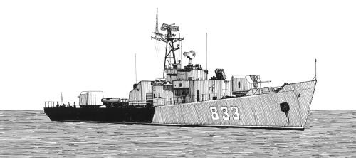求苏联别佳级护卫舰资料和图片